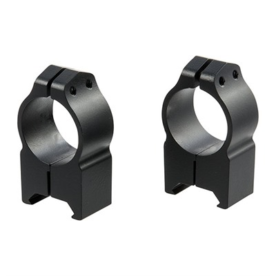 "Warne Mfg. Company Maxima Fixed Rings 1"" High Fixed Rings Matte Black Online Discount"