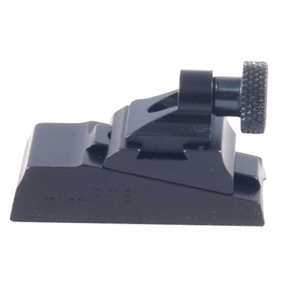 Williams Gun Sight Tc Encore Wgrs Receiver Rear Sight - Tc Encore Adj Peep Wgrs Receiver Rear Sight Black