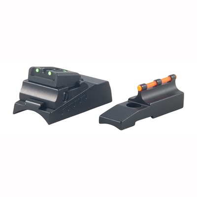 Muzzleloader Fire Front/Rear Sight Sets - Cva Sights For Round Barrel