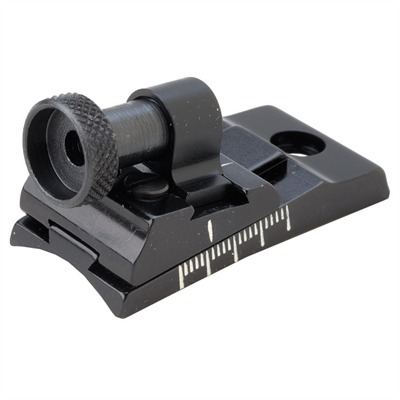 Ithica  Rear Sight - Ithica  Peep  Rear Sight Black