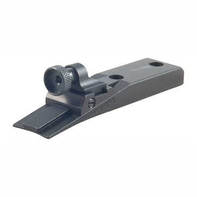 Williams Gun Sight Ruger 44 Wgrs Receiver Rear Sight - Ruger 44 Adjustable Peep Wgrs Receiver Rear Sight Black