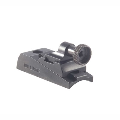 Williams Gun Sight H&R Handi-Rifles Wgrs Receiver Rear Sight - H&R Handi-Rifles Peep  Wgrs Receiver Rear Sight Black