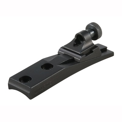 Williams Gun Sight Remington 4 Wgrs Receiver Rear Sight - Remington 4 Adjustable Peep Wgrs Receiver Rear Sight Black