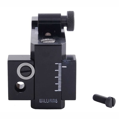 Foolproof Receiver Sights - Fp-71 Receiver Sight Uses Opt. Long Windage Knob