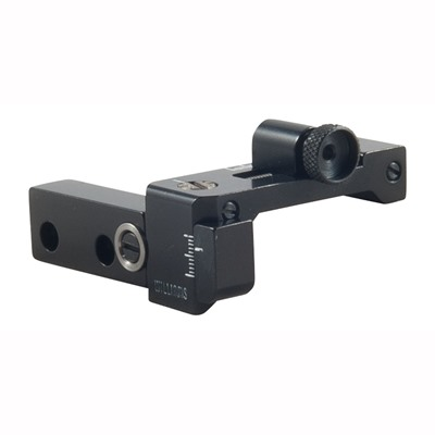 Foolproof Receiver Sights - Fp-88/100 Receiver Sight Uses Opt. Long Windage Knob