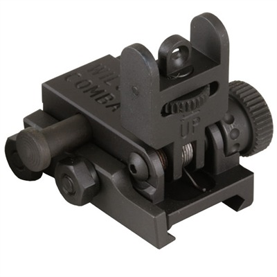 Ar-15 Flip-Up Rear Sight - Tr-Furs2k Flip-Up Rear Sight