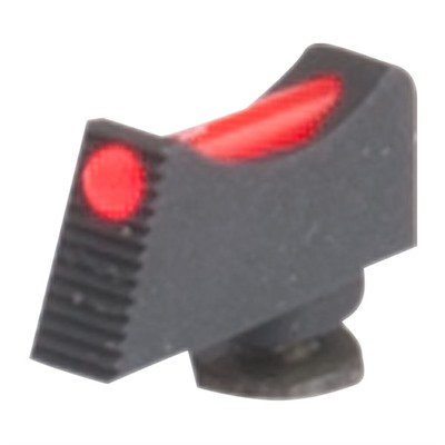 Wilson Combat Vickers Elite Snag Free Fiber Optic Front Sights For Glock - Vickers Elite Front Sight Red Fiber Optic .245