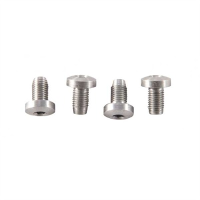 1911 Hex Head Grip Screws - 4 Pak H/H S/S G/Screws