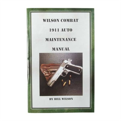 1911 Auto Maintenance Manual