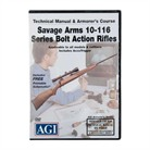 #1474 SAVAGE 10-116 BOLT ACT.RIFLE DVD