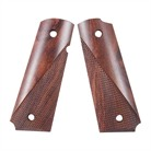 ROSEWOOD TACTICAL GRIP, PIN CUTOUT