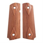 ROSEWOOD GOVT MODEL CHECKERED S&A GRIP