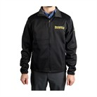 SMALL BLACK BROWNELLS FLEECE JACKET