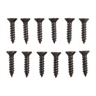 8 X 3/4 BLUED STEEL WOOD SCREW, DOZ