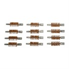 12 GA. BRONZE DOUBLE ENDED BRUSH DOZEN