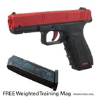 SIRT TRAINING PISTOL RED SLIDE W/ MAG