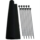 RIFLE RODS-10 PK-INCLUDES LOOP FABRIC