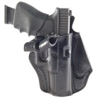 GLOCK 19 PCH LEATHER HOLSTER-BLACK