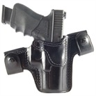 GLOCK 19 CQC/S LEATHER HOLSTER-BLACK
