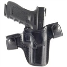 GLOCK 17 CQC/S LEATHER HOLSTER-BLACK