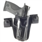 S&W M&P 9MM CQC/S LEATHER HOLSTER-BLK