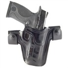 S&W M&P .45 CQC/S LEATHER HOLSTER-BLK