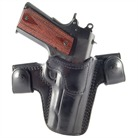 1911 COMMAND CQC/S LEATHER HOLSTER-BLK