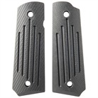 1911 CARRY GROOVE GRIPS-FULL SIZE-BLK