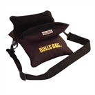 Bulls Bag Field Blk Poly Bag W Carry Strap 10 inch Bulls Bag Shooting Accessories