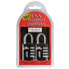1SKB-PDL TSA COMBINATION PADLOCK-2 PK