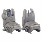 AR-15/M16 MBUS GEN 2 SIGHT SET, OD GRN