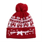 UGLY CHRISTMAS BEANIE RED