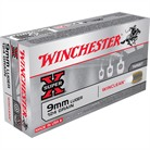 WIN AMMO 9MM LUGER 124GR BRASS