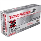WIN AMMO 204 RUGER 34GR. JHP 2
