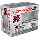 WIN AMMO 41 MAG SUPER-X 175GR