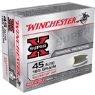 WIN AMMO 45 ACP SUPER-X 185GR