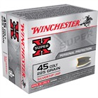 WIN AMMO 45 COLT SUPER-X 225GR