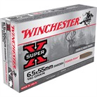 WIN AMMO 6.5 X 55 SUPER-X 140G