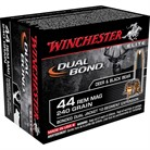 WIN AMMO 44MAG 240GR DUAL BOND