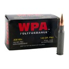 WOLF POLY 308WIN 145GR FMJ 20/BX