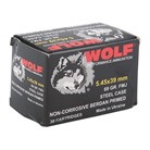 WOLF POLY 5.45X39 69GR FMJ 30/BX