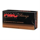Pmc Ammunition, Inc. Bronze Ammo 38 Special 132gr Fmj