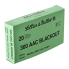 Sellier & Bellot 300 Aac Blackout 124gr Fmj Ammunition