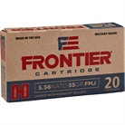 Hornady Frontier Ammo 223 Remington 55gr Full Metal Jacket