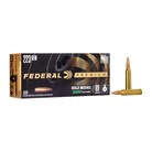 Federal Federal Gold Medal Match Ammunition Federal Ammunition
