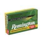 Remington Arms Inc point Remington Managed Recoil Rifle Ammunition Remington Arms Inc. Ammunition