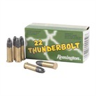 Remington Thunderbolt Ammo 22 Long Rifle 40gr Lead Round Nose