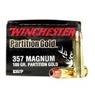 Winchester Winchester Supreme Partition Gold Handgun Ammunition Winchester Ammunition