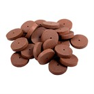 #86 FINE CRATEX WHEEL, PKG 25