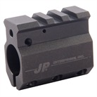 .750 ADJUSTABLE GAS BLOCK, S/S, BLACK